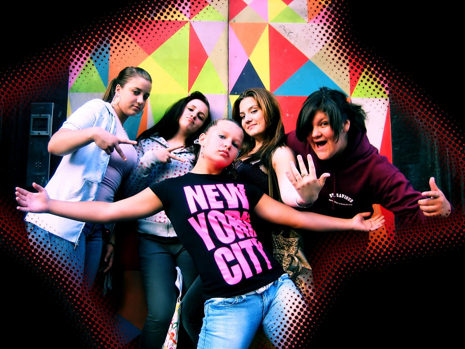photoblog image N.Kama 'Vibrant City Girls' New York 2007