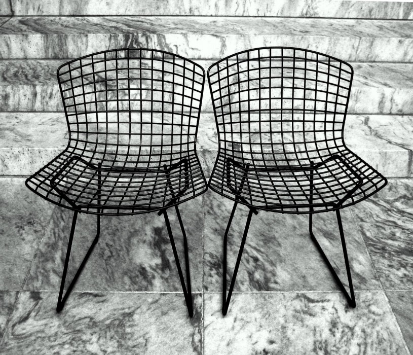 photoblog image @ MoMA #5 - Chairs